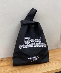 エコバッグ バッグ GOOD CONDITION刺繍ナイロンエコバッグ|ZOZOTOWN PayPayモール店
