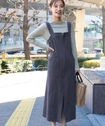 ワンピース ジャンパースカート ツイルナロージャンスカ 938381|ZOZOTOWN PayPayモール店