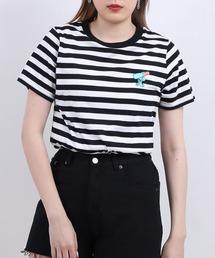 tシャツ Tシャツ ワンポイントボーダーTシャツ ZOZOTOWN PayPayモール店