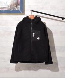 ジャケット ブルゾン 【Bk】【セレクト】ボアZIPブルゾンパーカー|ZOZOTOWN PayPayモール店