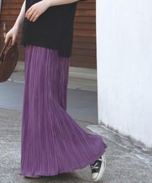 スカート [追加][洗える][シワになりにくい]カットプリーツスカート【大きいサイズ対応】|ZOZOTOWN PayPayモール店