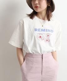 tシャツ Tシャツ FLOWER REMIND Tシャツ【手洗い可能】◆|ZOZOTOWN PayPayモール店