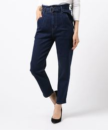 パンツ デニム ジーンズ BELT HIGH-RISE WIDE DENIM PANT|ZOZOTOWN PayPayモール店