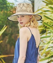 帽子 ハット 【Santelli Francesca】パイピングハット|ZOZOTOWN PayPayモール店