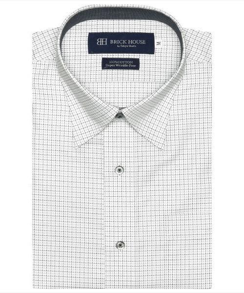 祝開店大放出セール開催中 形態安定ノーアイロン スナップダウン 驚きの値段で 半袖ビジネスワイシャツ