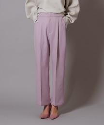 パンツ color tuck tapered pants ZOZOTOWN PayPayモール店