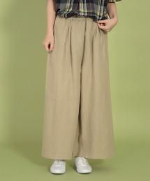パンツ [D.M.G / ディーエムジー] 6ozリネンキャンバス キュロットスカート|ZOZOTOWN PayPayモール店