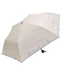 折りたたみ傘 完全遮光晴雨兼用 折りたたみ傘 ねこ刺繍柄 ZOZOTOWN PayPayモール店