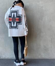 tシャツ Tシャツ [PENDLETON/ペンドルトン] 別注バックハーディングプリントロングスリーブTシャツ|ZOZOTOWN PayPayモール店