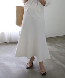 スカート ミラノリブマーメイドスカート /MARILYN MOON ZOZOTOWN PayPayモール店