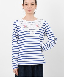 tシャツ Tシャツ テーブルクロスパーツボーダープルオーバー|ZOZOTOWN PayPayモール店