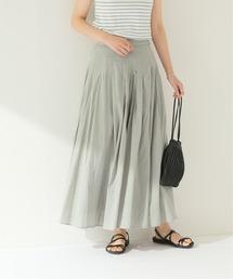スカート Washableシルクミックスギャザースカート ZOZOTOWN PayPayモール店