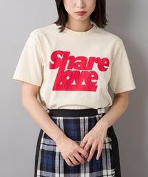 tシャツ Tシャツ #【MIXTA/ミクスタ】SHARE LOVE RED/プリントTシャツ|ZOZOTOWN PayPayモール店