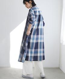 ワンピース シャツワンピース 3WAYチェックシャツワンピース *◇|ZOZOTOWN PayPayモール店