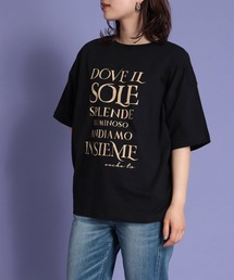 tシャツ Tシャツ 前後2wayロゴオーバーサイズTシャツ ZOZOTOWN PayPayモール店