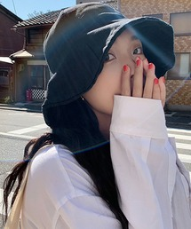帽子 ハット シンプルサファリハット ハット コットン バケットハット 韓国 中国 チャイナ コリア ストリート|ZOZOTOWN PayPayモール店