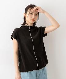 tシャツ Tシャツ 楊柳 メロー配色 半袖 Tシャツ|ZOZOTOWN PayPayモール店