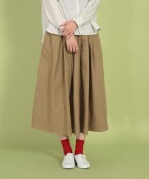 スカート [D.M.G / ディーエムジー] タイプライタークロス マキシ丈スカート ZOZOTOWN PayPayモール店