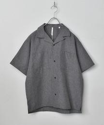シャツ ブラウス ポリトロ両胸ポケット リラックスオープンカラーシャツ|ZOZOTOWN PayPayモール店
