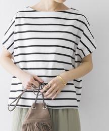 tシャツ Tシャツ 【WEB限定】ワイドボーダーカットソープルオーバー|ZOZOTOWN PayPayモール店