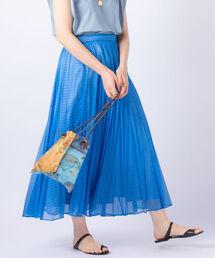 スカート カールマイヤーストライププリーツスカート|ZOZOTOWN PayPayモール店