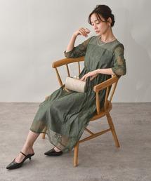 ドレス 総レースロングレーススカート ワンピースドレス|ZOZOTOWN PayPayモール店