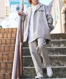セットアップ 【セットアップ】Mark Gonzales/マークゴンザレス MONO-MART別注 CPOシャツジャケット & シェフパンツ|ZOZOTOWN PayPayモール店