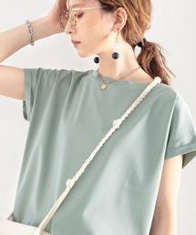 tシャツ Tシャツ 綿100%、さらり滑らか。シンプルフレンチトップス|ZOZOTOWN PayPayモール店