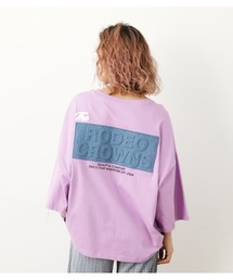 tシャツ Tシャツ デニムエンボスパッチTシャツ|ZOZOTOWN PayPayモール店
