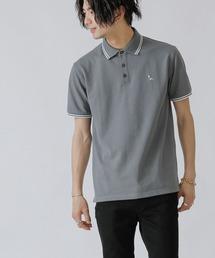 ポロシャツ ロンドンデニム / 鹿の子 ワンポイント刺繍 ポロシャツ(半袖) ZOZOTOWN PayPayモール店
