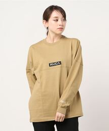 tシャツ Tシャツ RVCA レディース  BOX RVCA LT ロングスリーブTシャツ【2021年春夏モデル】/ルーカ 長袖 ロンT|ZOZOTOWN PayPayモール店