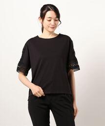 tシャツ Tシャツ 袖レースカットソー|ZOZOTOWN PayPayモール店