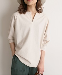 tシャツ Tシャツ パイルキーネックプルオーバー【手洗い可能】◆|ZOZOTOWN PayPayモール店