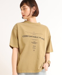 tシャツ Tシャツ M1637 18/OE顔料染めロゴTシャツ|ZOZOTOWN PayPayモール店