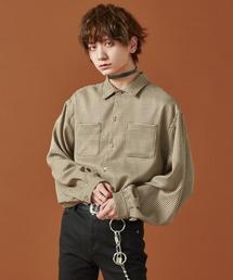 シャツ ブラウス 【ADRER】ドルマンスリーブオープンカラーシャツ ZOZOTOWN PayPayモール店
