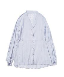 ルームウェア パジャマ 洗いざらしノーカラーシャツ|ZOZOTOWN PayPayモール店