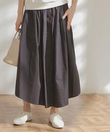 スカート FORK&SPOON シャツテイルギャザースカート|ZOZOTOWN PayPayモール店
