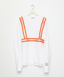 tシャツ Tシャツ NEON TAPE ルーズシルエットクルーネックロンT ZOZOTOWN PayPayモール店