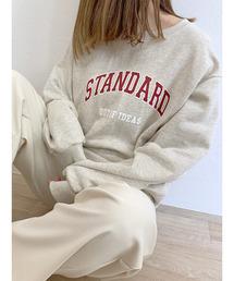 スウェット STANDARD logo sweat / STANDARDロゴスウェット|ZOZOTOWN PayPayモール店