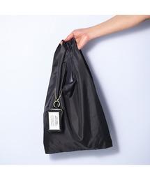 エコバッグ バッグ バッグチャームエコバッグ タイポ ブラック|ZOZOTOWN PayPayモール店