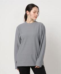 tシャツ Tシャツ Sustainable atmos pink / :膨れジャガードTシャツLS ZOZOTOWN PayPayモール店
