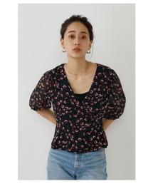 tシャツ Tシャツ カシュクールパフスリーブブラウス|ZOZOTOWN PayPayモール店