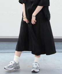 スカート LE GLAZIK / ル グラジック リネンクロススカート LINEN CLOTH SKIRT JL-5076 ZOZOTOWN PayPayモール店