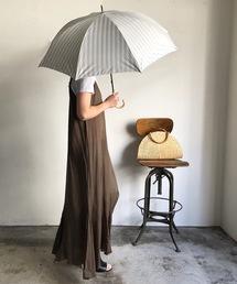 傘 NT:ストライプアンブレラ  晴雨兼用 日傘 長傘|ZOZOTOWN PayPayモール店