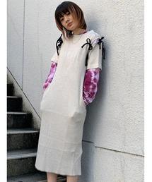 ワンピース FACETASM RIBBON SLEEVE DRESS YA-OP-W01 ZOZOTOWN PayPayモール店