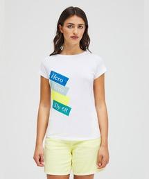 tシャツ Tシャツ ハピネス型押しラウンドネック半袖Tシャツ・カットソー|ZOZOTOWN PayPayモール店