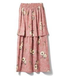 スカート ドットフラワースカート|ZOZOTOWN PayPayモール店