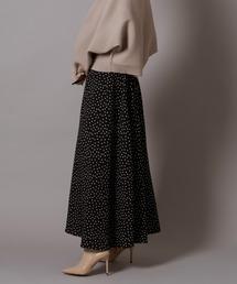 スカート dot flare skirt ZOZOTOWN PayPayモール店