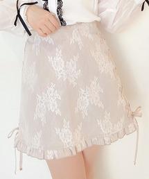 スカート Flowerレーススカート|ZOZOTOWN PayPayモール店