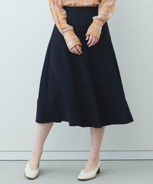 スカート IEDIT たっぷりフレアーがドラマティックなミドル丈スカート|ZOZOTOWN PayPayモール店